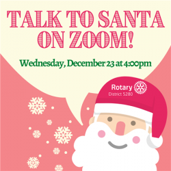 santa on zoom image tile