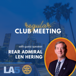 image tile with photo of the speaker: Rr. Admiral Len Hering