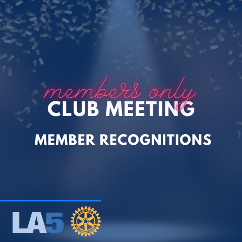 members only meeting