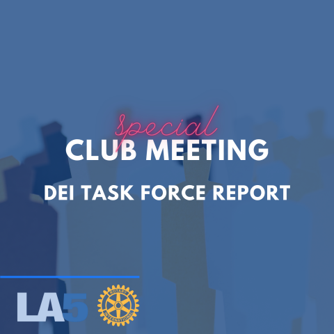 special club meeting