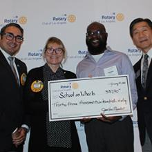 Rotary Club of Los Angeles Fights Homelessness